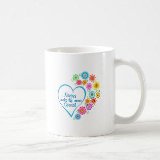 Caneca De Café Coração do Special das sobrinha