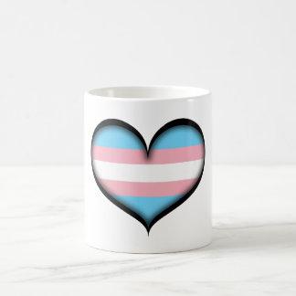 Caneca De Café Coração do Transgender