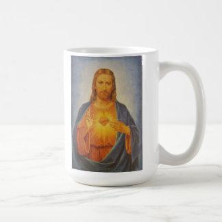 Caneca De Café Coração sagrado de Jesus