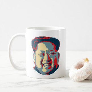 Caneca De Café Coreia do Norte do Jong-un de Kim