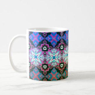 Caneca De Café Cores bonitas, teste padrão geométrico nenhuns 67