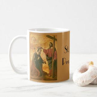 Caneca De Café Coroação de St Joseph por Jesus