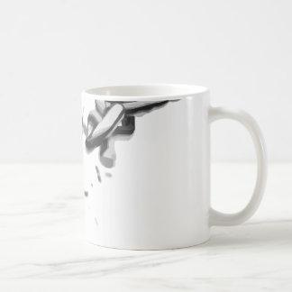 Caneca De Café Corrente da liberdade quebrada