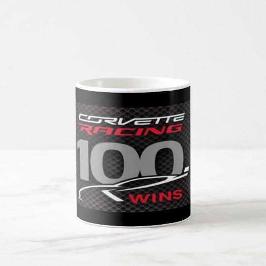 CANECA DE CAFÉ CORVETTE RACING 100 WINS- MUG