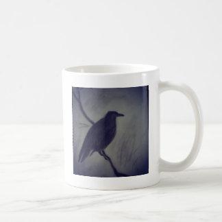 Caneca De Café corvo do inverno