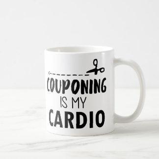 Caneca De Café Couponing é meu cardio-