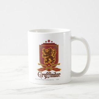 Caneca De Café Crachá de Harry Potter | Gryffindor QUIDDITCH™