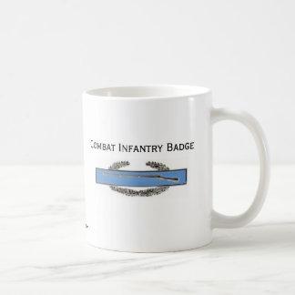 Caneca De Café Crachá de infantaria de combate