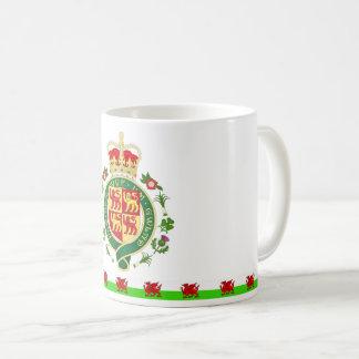 Caneca De Café Crachá real de Wales