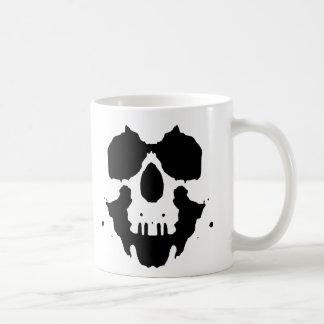 Caneca De Café crânio