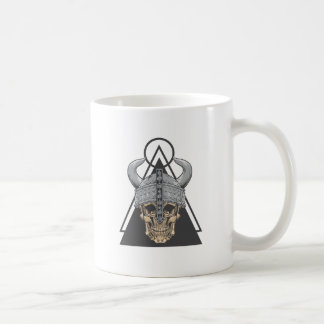Caneca De Café Crânio de Viking