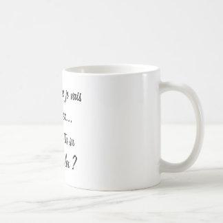 Caneca De Café crês que vou sucumbir mas você soube?