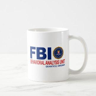 Caneca De Café Criminoso do FBI BAU
