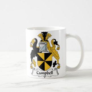 Caneca De Café Crista da família de Campbell