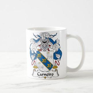 Caneca De Café Crista da família de Carneiro