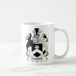 Caneca De Café Crista da família de Fairfield