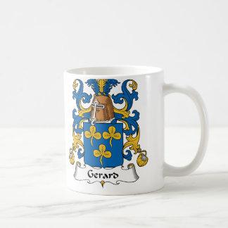 Caneca De Café Crista da família de Gerard