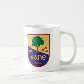 Caneca De Café Crista da família de Kane