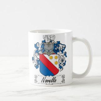 Caneca De Café Crista da família de Novello