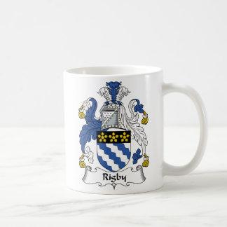 Caneca De Café Crista da família de Rigby