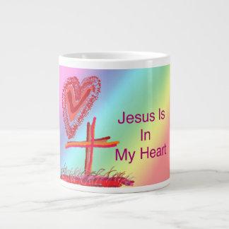 Caneca de café cristã da igreja cura da esperança