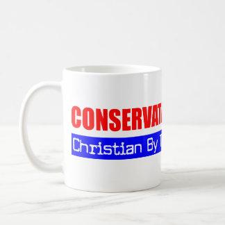 Caneca De Café Cristão conservador