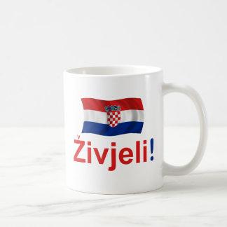 Caneca De Café Croatia Zivjeli! (Elogios)