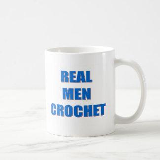 Caneca De Café Crochet real dos homens