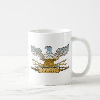 Caneca De Café Cromo de Eagle da legião