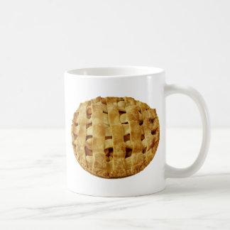 Caneca De Café Crosta feita americana do ziguezague da torta de