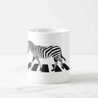 Caneca De Café Cruzamento de zebra