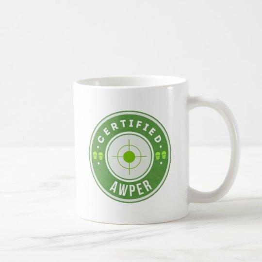 Caneca De Café CSGO Certified Sniper Mug