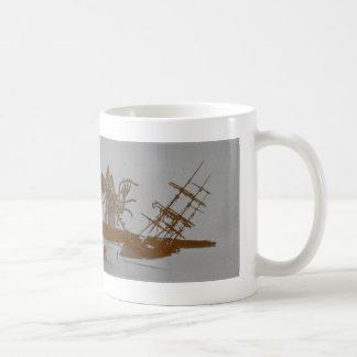 Caneca De Café Cthulhu destrói o copo