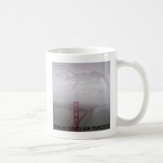 Caneca De Café Cthulhu observa San Francisco