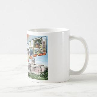 Caneca De Café Cumprimentos de Missouri