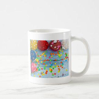 Caneca De Café cupcakes coloridos