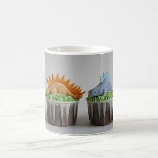 Caneca De Café Cupcakes do Stegosaurus