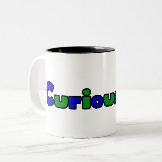 Caneca de café curiosa do Dois-Tom da banda