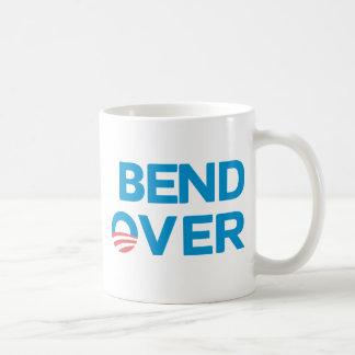 Caneca De Café Curvatura sobre - anti Obama