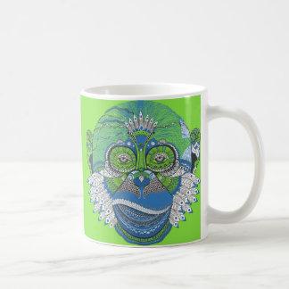 Caneca de café customizável do teste padrão do