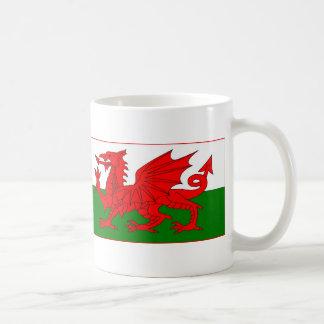 Caneca De Café Cymru - bandeira de Galês