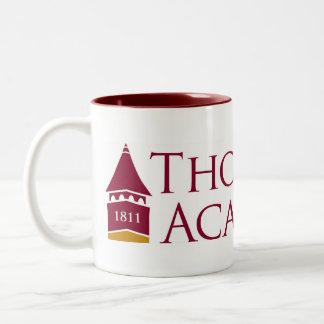 Caneca de café da academia de Thornton