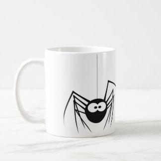 Caneca de café da aranha