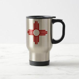 Caneca de café da bandeira de New mexico