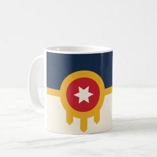 Caneca de café da bandeira de Tulsa