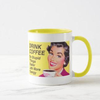 Caneca de café da bebida