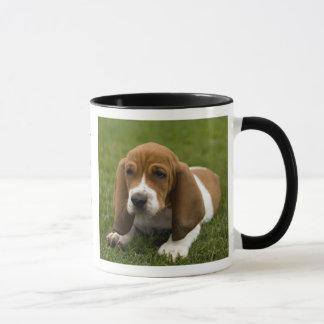Caneca de café da campainha do filhote de cachorro