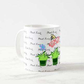 """Caneca De Café Da """"caneca bonito do amante planta"""""""