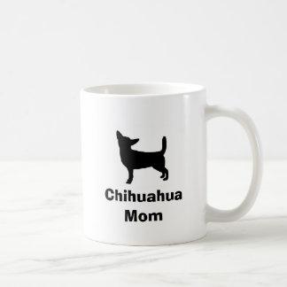 """Caneca De Café Da """"caneca da mamã chihuahua"""""""