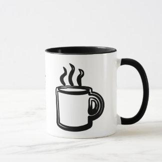 Caneca de café da caneca de café - uma caneca de